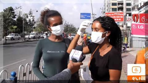 Fear of coronavirus in Addis Ababa