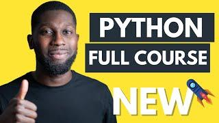 Python Tutorial for Beginners - Learn Python [FULL COURSE]
