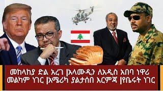 Alamudin  bread shops opened in addis ababa / ethiopan defense destroyed al shabab