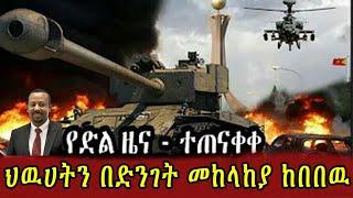 ETHIOPIA: የድል ዜና አበቃላቸዉ | ህውሀት ባልጠበቀው መንገድ ተጨረሰ ! Ethiopia Seifu on EBS kana tv yoni magna Zena Tube